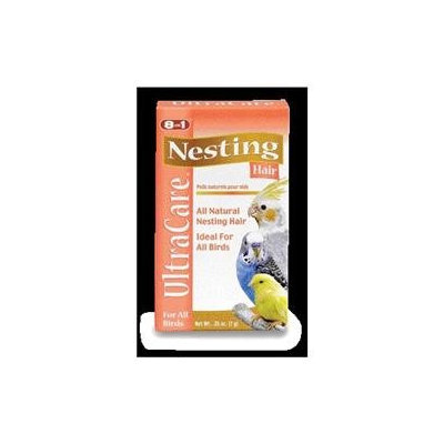 8 In 1 Pet Products BEOC393 Nesting Hair 0.25oz 12 Pieces