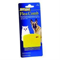 Four Paws Pet DFP00179 Flea Comb - Palm Size