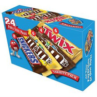 Mars Candy Variety Pack (24 ct.)