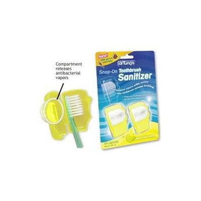 Dr. Tungs Dr. Tung's - Snap-On Kid's Toothbrush Sanitizer - 2 Pack