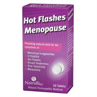 Frontier NatraBio Hot Flashes Menopause Relief - 60 Tablets