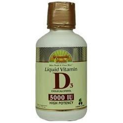 Dynamic Health Laboratories Dynamic Health Liquid Vitamin D3 Cherry - 16 fl oz