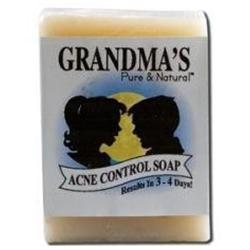 Remwood Products Co. - Grandma's Pure & Natural Acne Bar for Normal Skin - 4 oz.