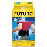 Futuro Adjustable Back Support, Fits Waist 29-51 in, Black