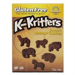Kinnikinnick Foods - KinniKritters Animal Cookies Chocolate - 8 oz.