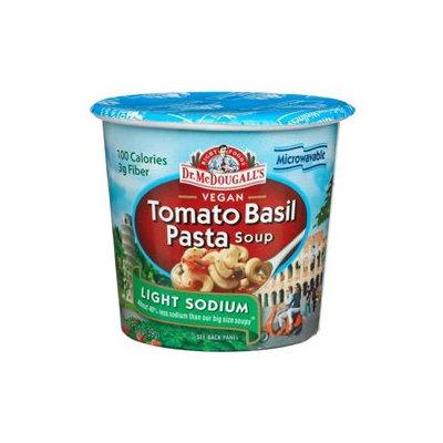 Dr. McDougall's Vegan Tomato Basil Pasta Soup, Light Sodium, 1.3 oz