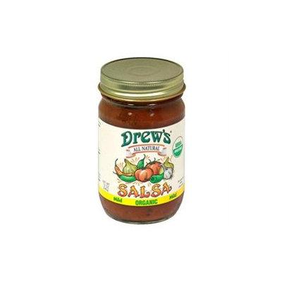 Drews All Natural 19917 Organic Mild Salsa