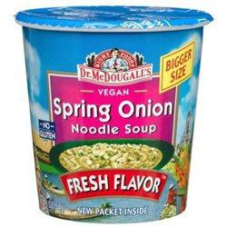 Dr. McDougall's Spring Onion Noodle Soup Cup - 1.9 fl oz - Vegan