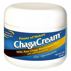 North American Herb & Spice ChagaCream Skin Rejuvenation
