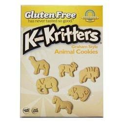 Kinnikinnick Foods, Kinnikritters Animal Cookies, Graham Style, 8 Oz