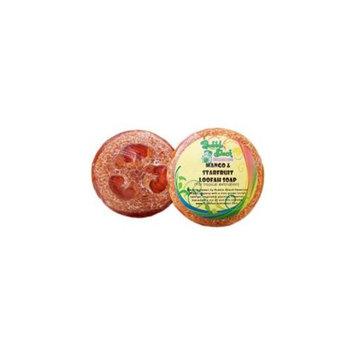Bubble Shack Hawaii 492773500427 Mango and Starfruit Loofah Soap - Pack of 2