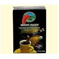 Mount Hagen 39549 Org Single Regular Freeze Dried Coffee