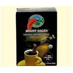 Mount Hagen 39549 Org Single Regular Freeze Dried Coffee