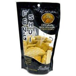 Roland Rice Crackers, Original, 3.5-Ounce Bag (Pack of 12)