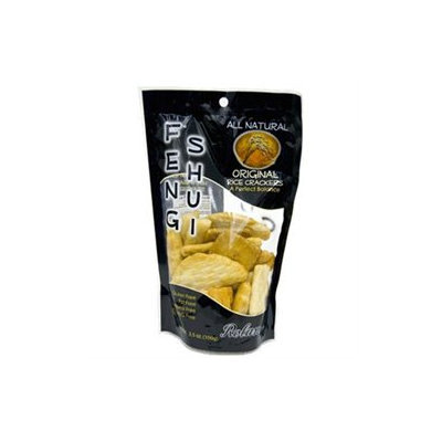 Roland Rice Crackers, Original, 3.5-Ounce Bag (Pack of 12)