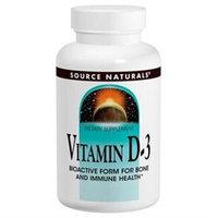 Source Naturals Vitamin D-3 - 1000 IU - 100 Softgels