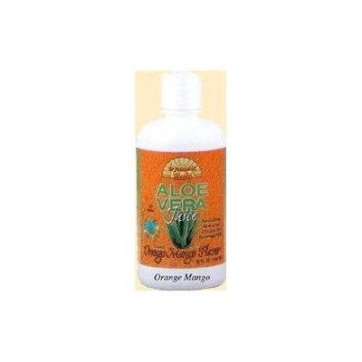 Organic Aloe Vera Juice Orange Mango by Dynamic Health Laboratories - 32oz.