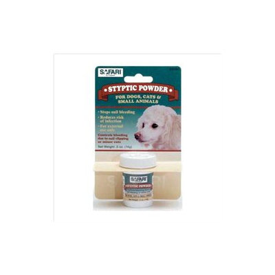 Safari Pet Products DSFW6185 Safari Styptic Powder .5 oz.