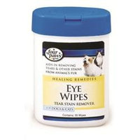 Four Paws Eye Wipes for Dogs & Cats - 30 ct.