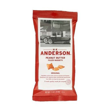 H.k. Anderson H K Anderson Original Peanut Butter Filled Pretzel Nuggets 2.5 oz. bag Case of 20