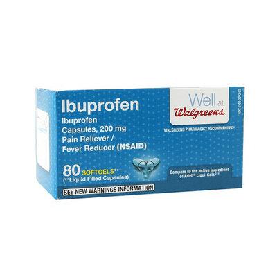 Walgreens Ibuprofen 200mg Softgels