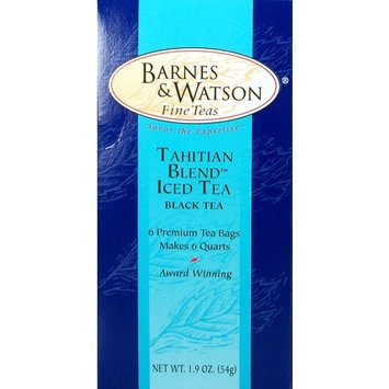 Barnes Watson Fine Teas Tahitian Blend Iced Tea (6 One-Quart Teabags)