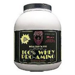 Healthy N Fit Healthy N' Fit - 100 Whey Pro-Amino Heavenly Chocolate - 5 lbs.