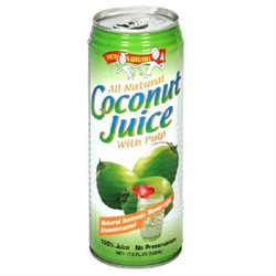 Amy Brian Amy & Brian 34301 Natural Coconut Juice With Pulp