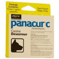Intervet Panacur - Three 1g Packs