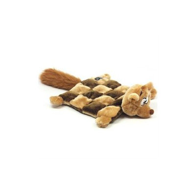 Kyjen Plush Puppies Squirrel Squeaker Mat for Dog