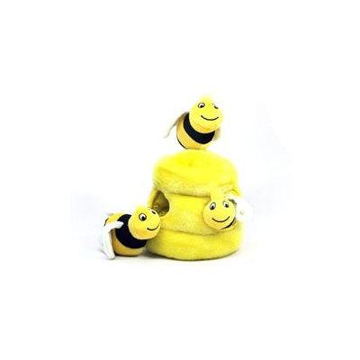 Kyjen Innovative Kyjen Plush Puppies Hide a Bee Dog Toy