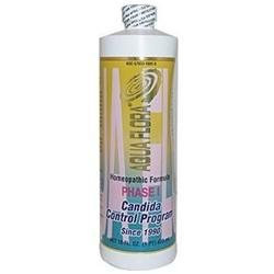 Aqua Flora Phase I Candida Control Program, 16 oz