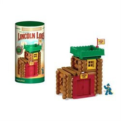 K'NEX Lincoln Logs Fort Hudson Building Set