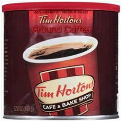 Tim Hortons Medium Roast Ground Coffee, 32.8 oz