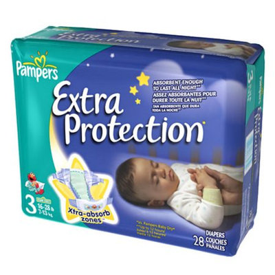 Pampers® Extra Protection Diapers Size 3