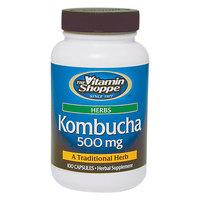Vitamin Shoppe Kombucha 500 MG - 100 Capsules - Mushroom Combinations