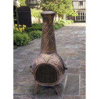 Oakland Living Corp. Chimenea Oakland Living Wood Burning Round