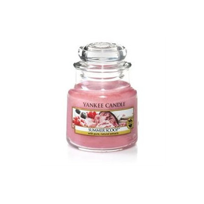 Yankee Candle Summer Scoop Small Jar Candle, Fruit Scent