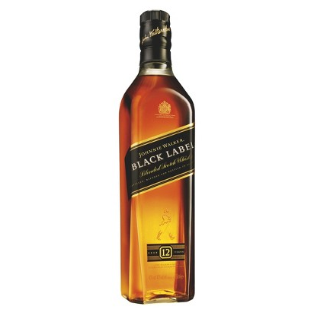 Johnnie Walker JOHNNIE WALK 750ML BLACK SCOTCH