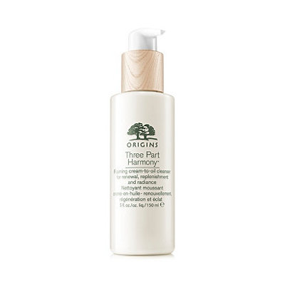 Origins Three Part Harmony™ Foaming Cream-To-Oil Cleanser For Renewal, Replenishment and Radiance