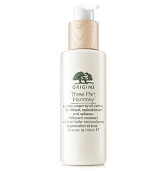 Three Part Harmony™ Foaming Cream-To-Oil Cleanser For Renewal, Replenishment and Radiance