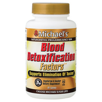 Michael's Health Products Blood Detoxification Factors Michael's Naturopathic 90 Tabs