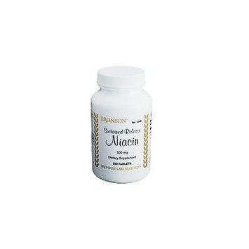 Niacin - 500 Mg. Sustained Release (100)