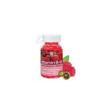 Nutrition Now Vitamin B-12 Gummy Vitamins Raspberry -- 100 Gummies