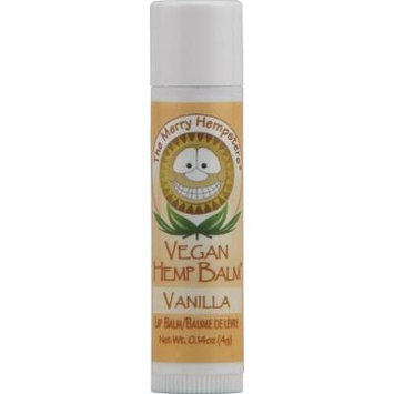 MERRY HEMPSTERS Vegan Hemp Lip Balm Vanilla 0.14 OZ