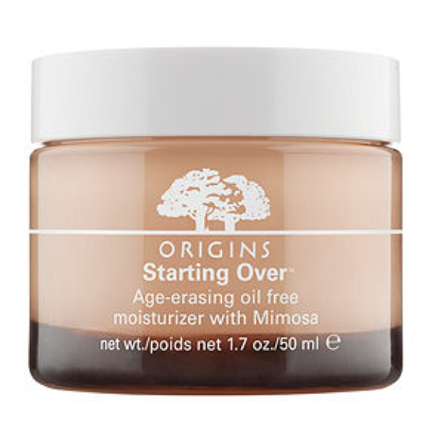 Origins Starting Over Age-erasing oil free moisturizer with Mimosa