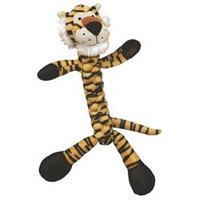 Kong Safari Braidz Dog Toy Small Tiger