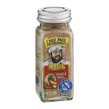 Chef Paul Prudhomme's Magic Seasoning Blends Sweet & Spicy