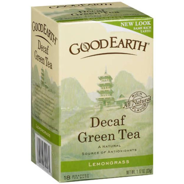 Good Earth Decaf Green Tea