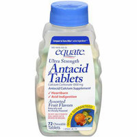 Equate Ultra Strength Assorted Fruit Flavors Antacid Tablets